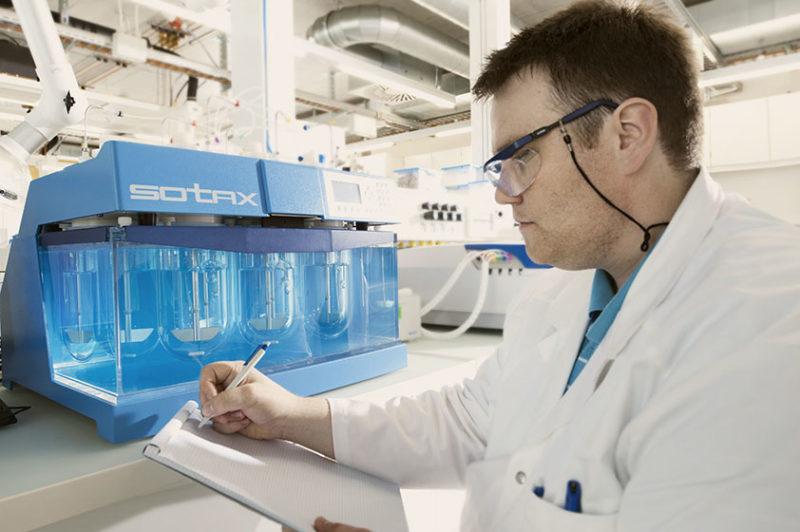 Tillotts Pharma labs in Rheinfelden